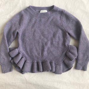 OshKosh B'gosh purple sweater. Size 3T $7